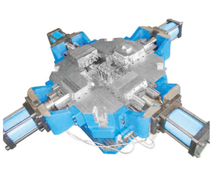 high-pressure die casting cylinder mould