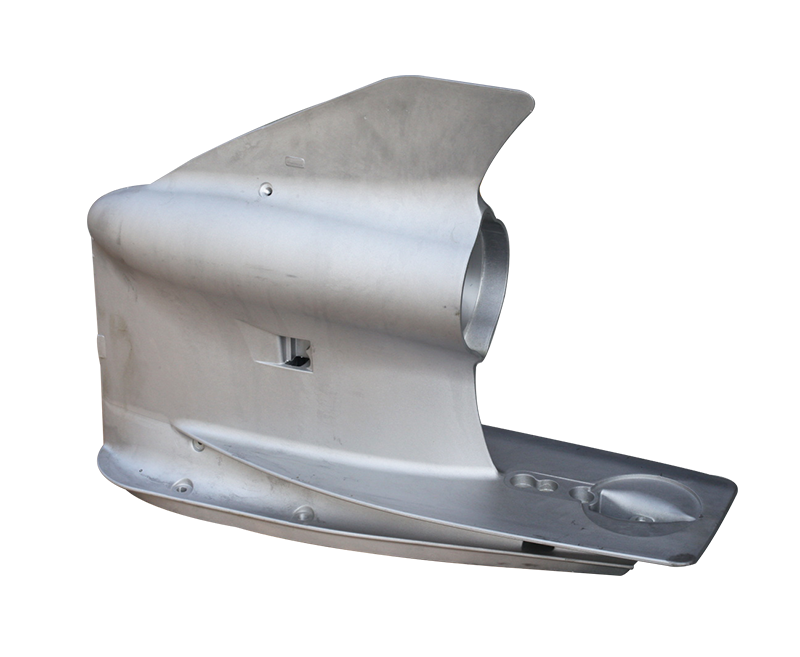 Outboard underwater shell series